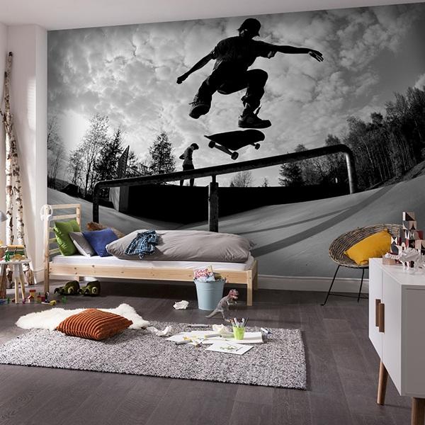 Papier peint vinyle: Skate