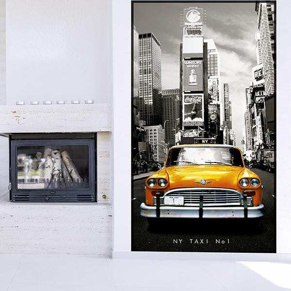 Papier peint vinyle: Taxi Nº1