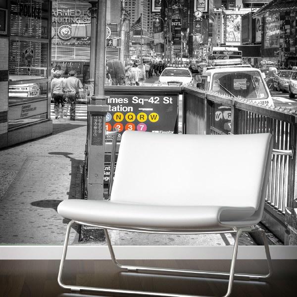 Papier peint vinyle: Times square undreground