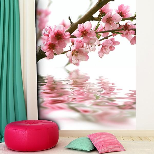 Papier peint vinyle: Almond Blossom