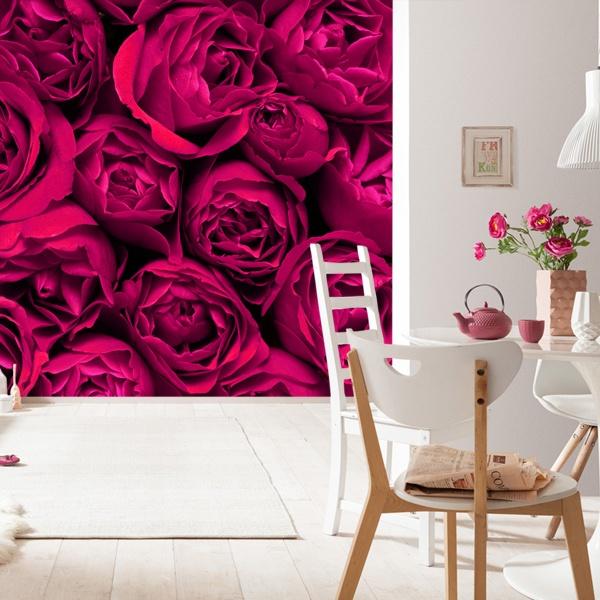 Papier peint vinyle: Fleurs 3