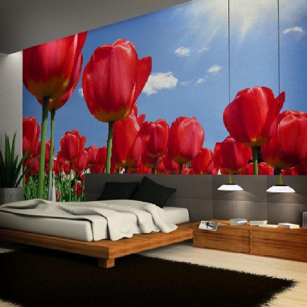 Papier peint vinyle: Fleurs 11