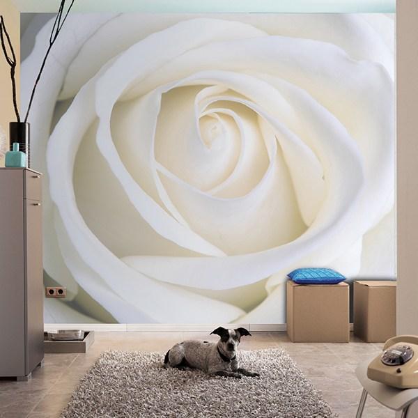 Papier peint vinyle: Fleurs 14