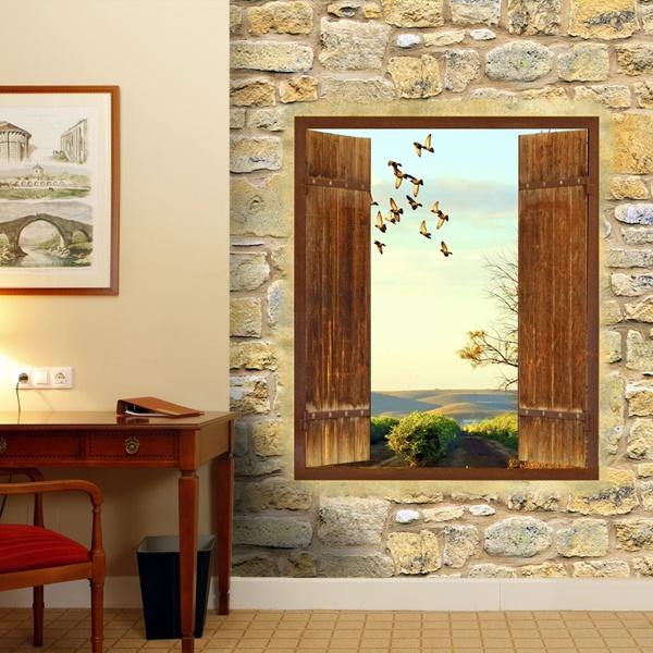 Papier peint vinyle: Fenêtre