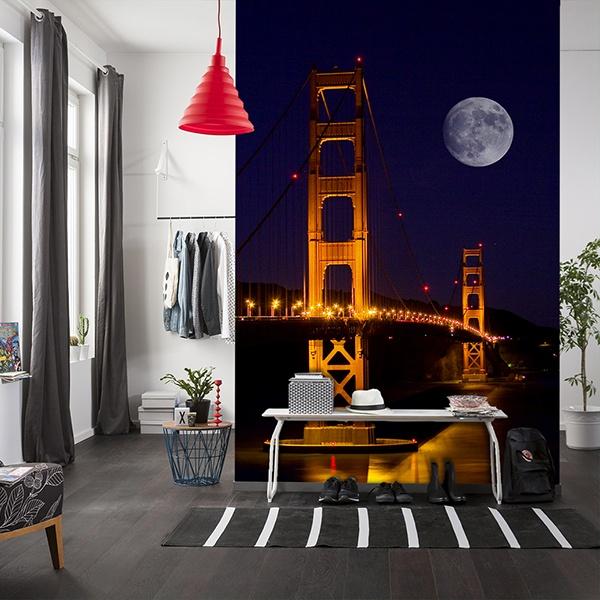 Papier peint vinyle: Golden Gate
