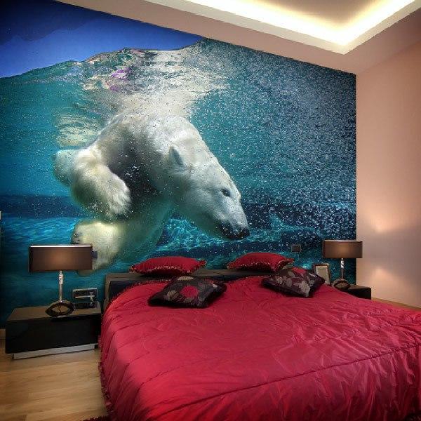 Papier peint vinyle: Polar Bear