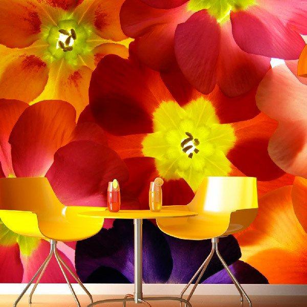Papier peint vinyle: Fleurs 22