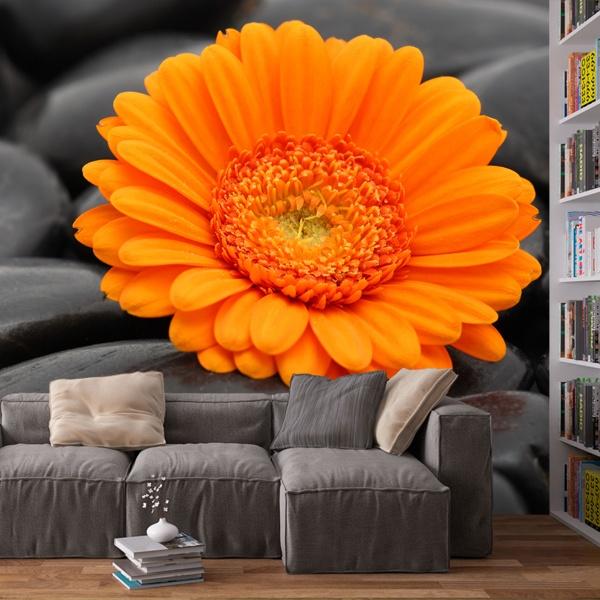 Papier peint vinyle: Fleurs 17