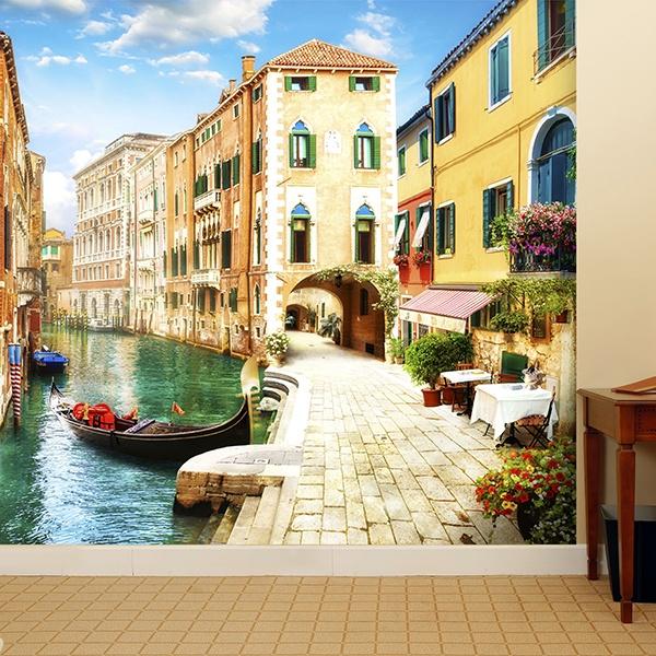 Papier peint vinyle: 5 tour de Venise