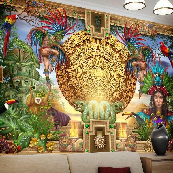 Papier peint vinyle: Maya