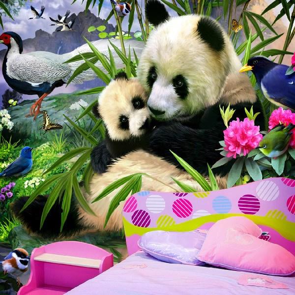 Papier peint vinyle: Panda Bear