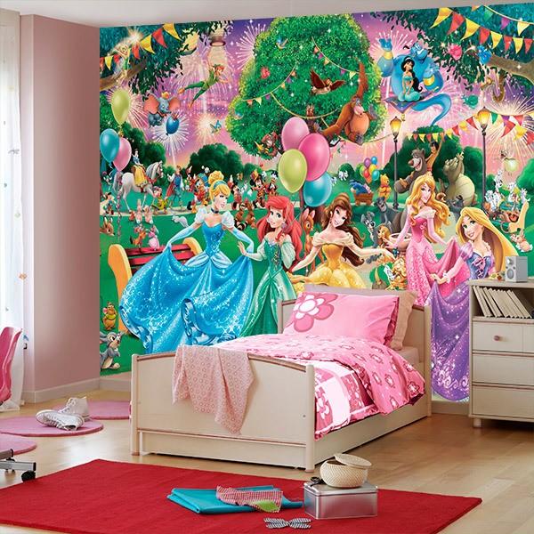 Papier peint vinyle: Princesse 0