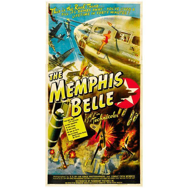 Papier peint vinyle: Memphis Belle