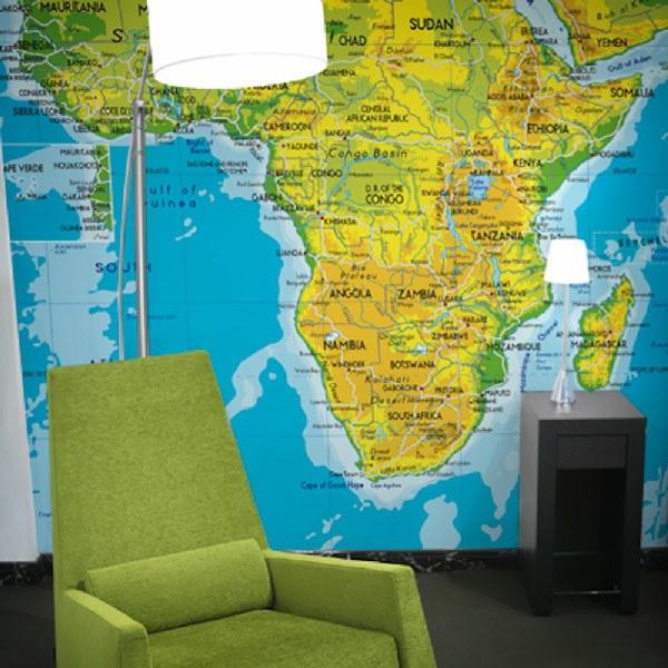 Papier peint vinyle: Afrique 2