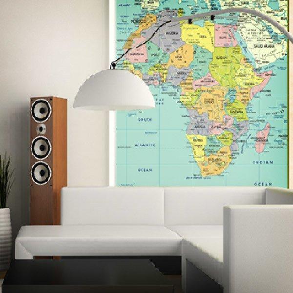 Papier peint vinyle: Afrique Politique 1
