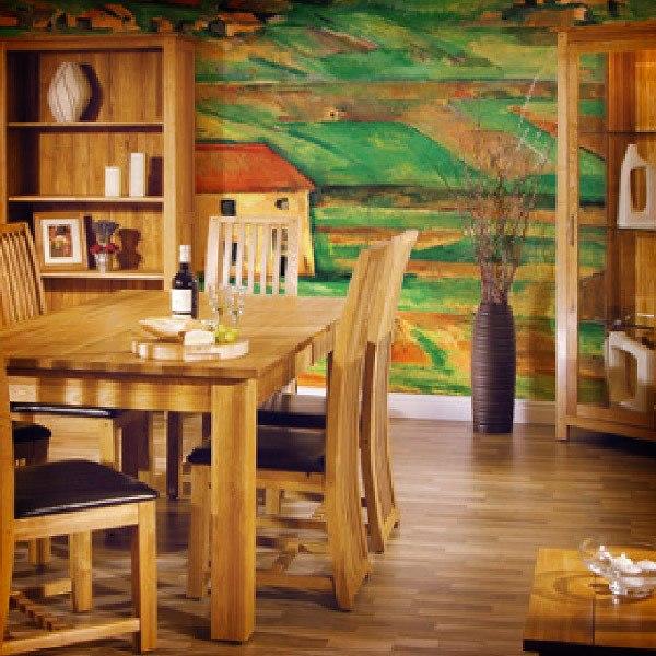 Papier peint vinyle: Environnement de Gardanne_Cezanne