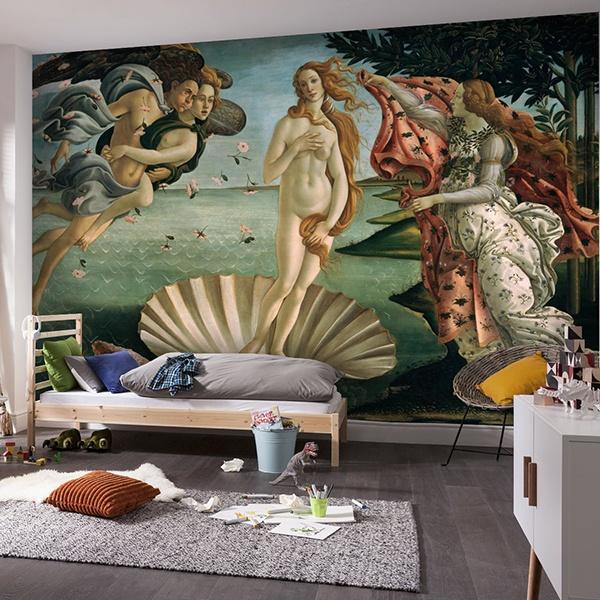 Papier peint vinyle: Naissance de Vénus_Botticelli