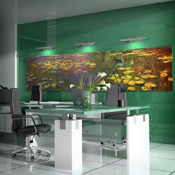 Papier peint vinyle: Water Lilies Monet