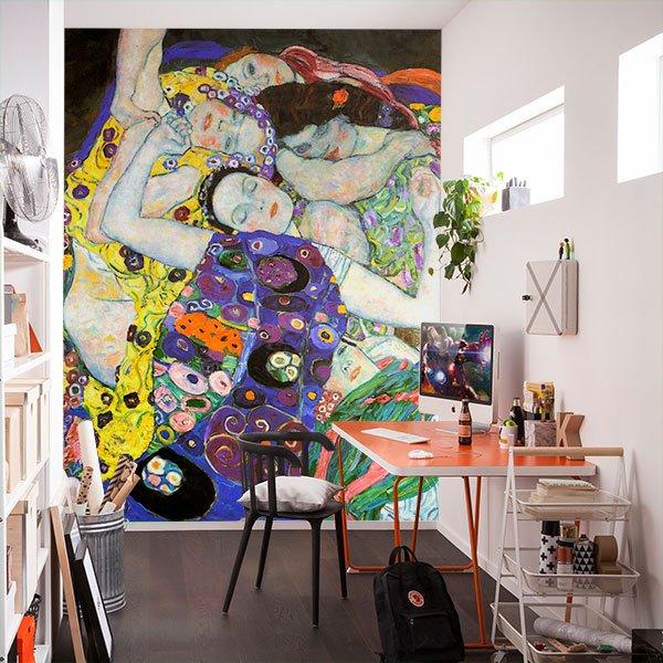 Papier peint vinyle: La vierge_Klimt