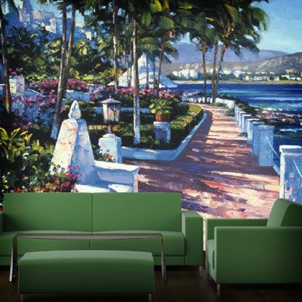 Papier peint vinyle: Promenade (Howard Behrens)