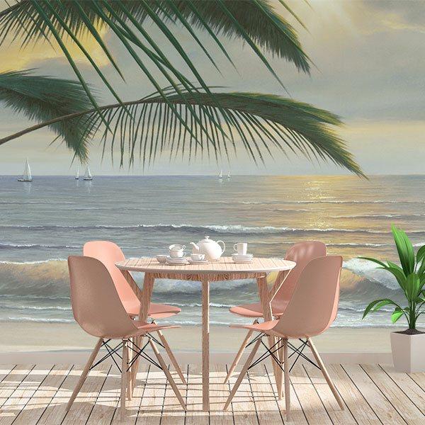 Papier peint vinyle: Paradis (Diane Romanello)