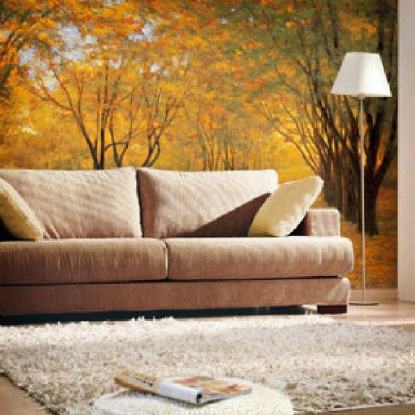 Papier peint vinyle: Golden Autumn