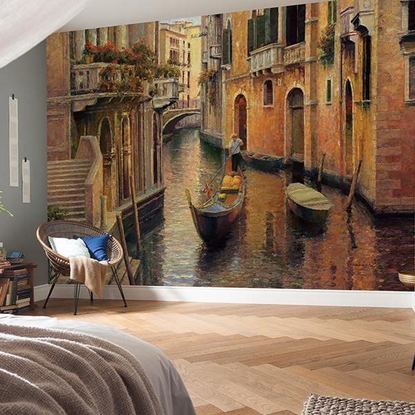 Papier peint vinyle: allée de Venise
