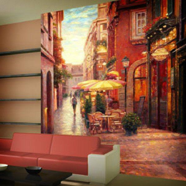 Papier peint vinyle: Nuit à Colmar (Haixia Liu)