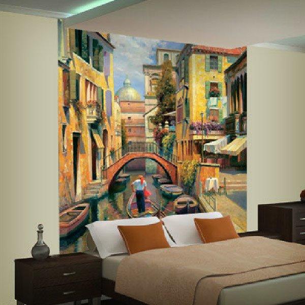 Papier peint vinyle: Dimanche à Venece (Haixia Liu)