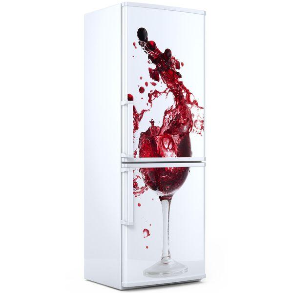 Stickers muraux: Verre de vin