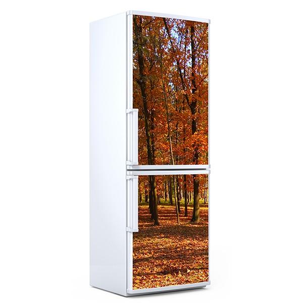 Stickers muraux: Bosque en otoño