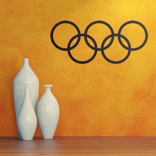 Autocollants: Cercles olympiques