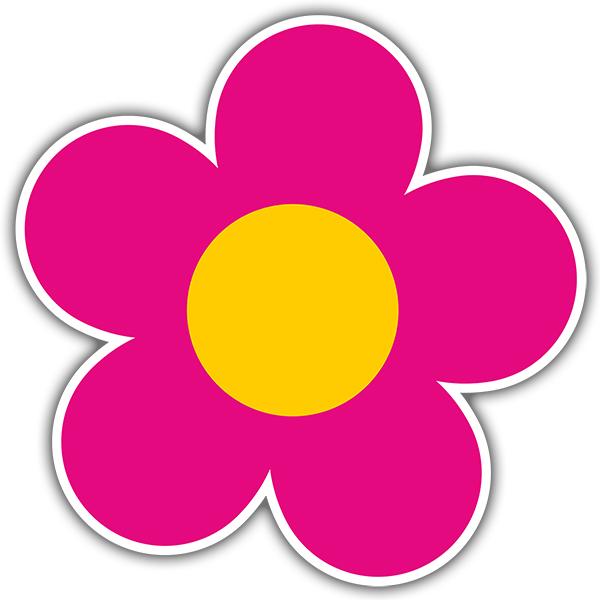 Stickers muraux: Fleur