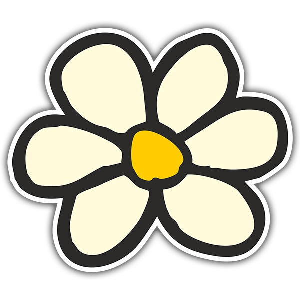 Stickers muraux: Flor new style