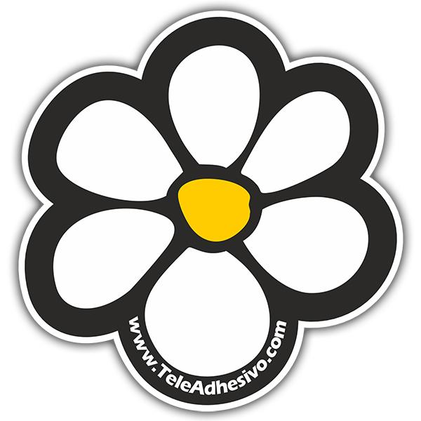 Stickers muraux: Flor TeleAdhesivo