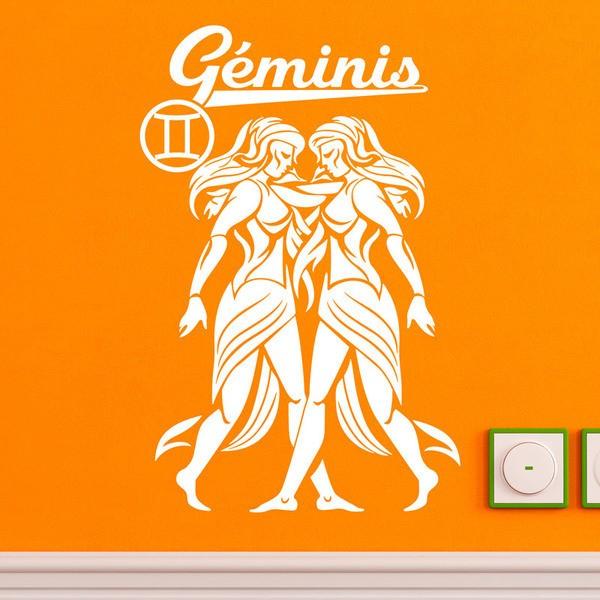 Stickers muraux: zodiaco 13 (Geminis)