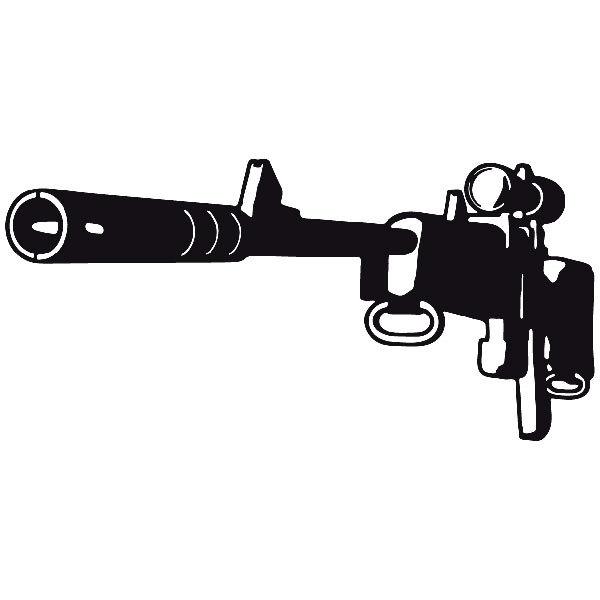 Autocollants: Arme 6