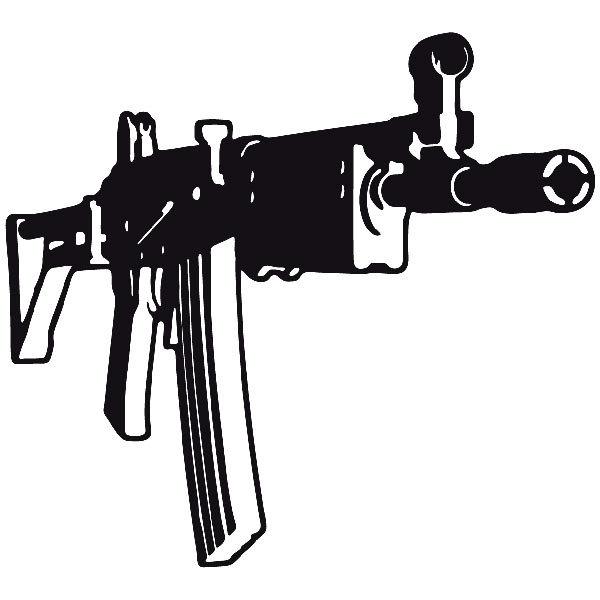 Autocollants: Arme 8