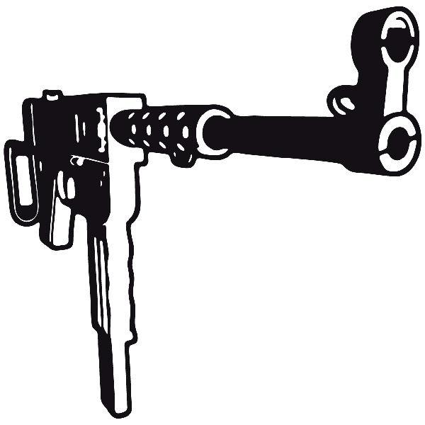 Autocollants: Arme 9