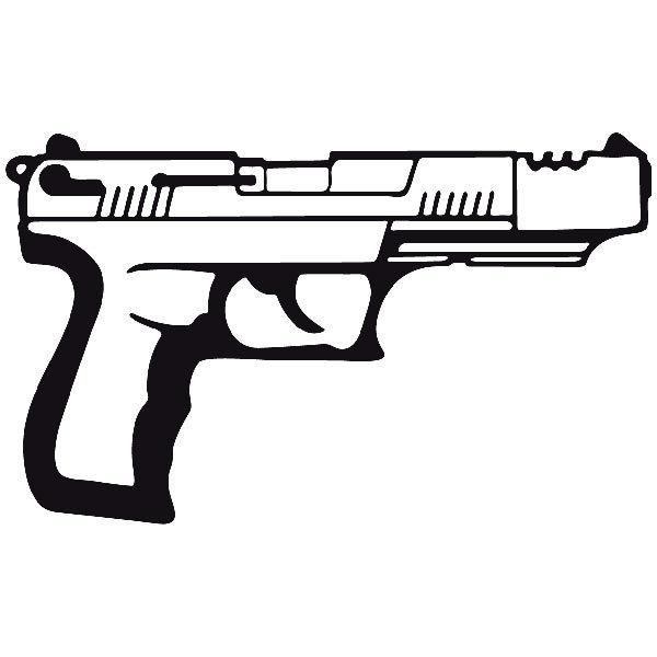 Autocollants: Arme 17