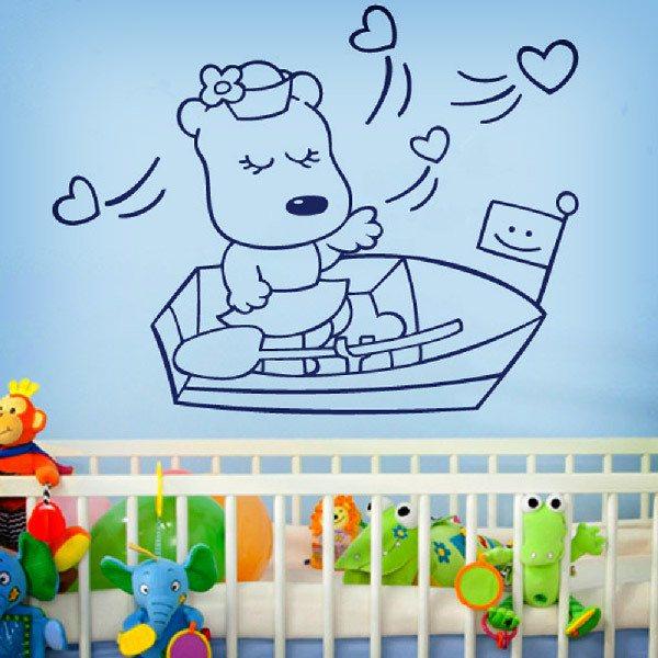 Stickers pour enfants: Marinera