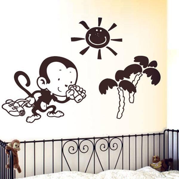 Stickers pour enfants: Monito