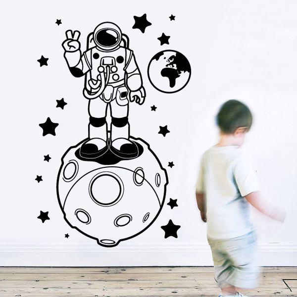 Stickers pour enfants: Astronaute