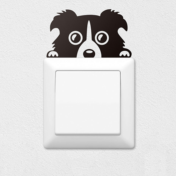 Stickers muraux: Chiot