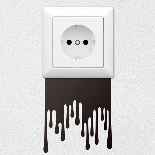 Stickers muraux: Gouttes de peinture