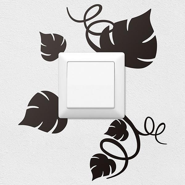 Stickers muraux: Feuilles de vigne