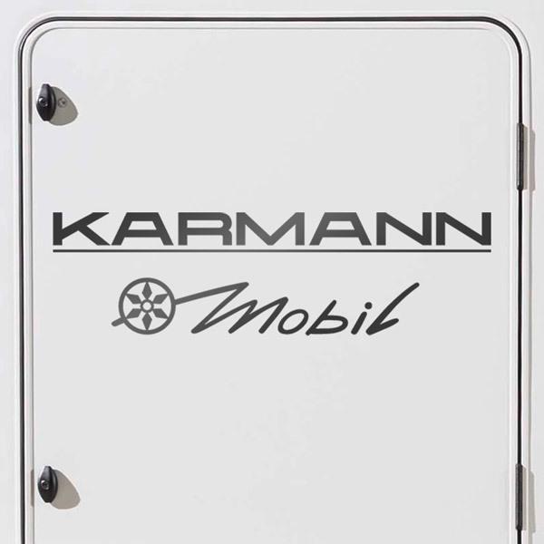 Autocollants: Karmann 3 Mobil