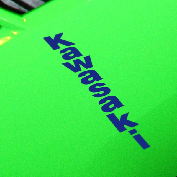 Autocollants: Kawasaki vertical