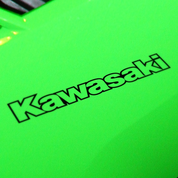 Autocollants: Kawasaki contorno