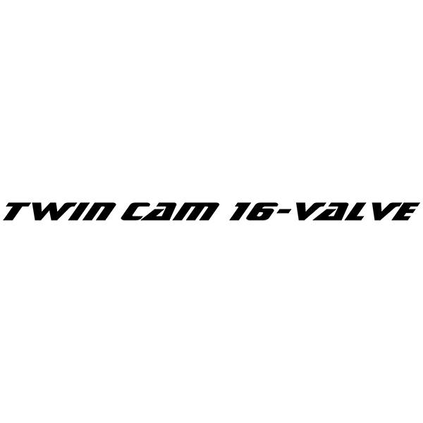 Autocollants: ZZR, Twim cam 16 Valve